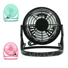 Notebook Laptop Computer Portable Super Mute PC USB Cooler Desk Cooling Mini Fan