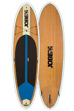 JOBE BAMBOO 10.6ft STAND UP PADDLE BOARD SUP WITH OPTIONAL PADDLE PACKAGE