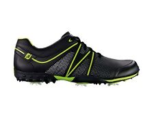 FootJoy M Project Golf Shoes - Black/Lime Green 55191 - New Closeout Mens Shoe