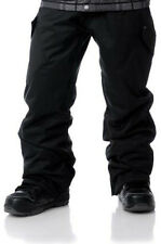 Empyre Boys Militia Cargo Ski Pants Snowboard 10k Waterproof Black Boys M L XL