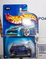 2004 Hot Wheels First Editions ROCKSTER / HUMMER BLUE  #023 NEW