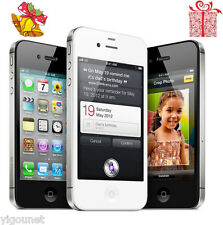 Apple iPhone 4S 16GB 8MP Factory Unlocked Black White Smartphone A1387