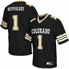 #1 Colorado Buffaloes Colosseum Big & Tall Football Jersey - Black - College