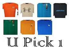 Under Armour T Shirt Mens Top Athletic Sports Active Tee Little UA Logo Youth