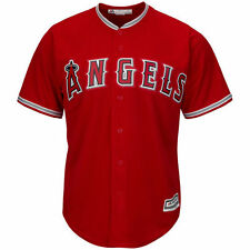 Youth Majestic Scarlet Los Angeles Angels of Anaheim Official Cool Base Jersey