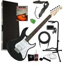 Yamaha Pacifica PAC012 Electric Guitar - Black COMPLETE GUITAR BUNDLE