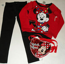 DISNEY & GYMBOREE MINNIE MOUSE 4 PIECE OUTFIT GIRLS SZ 6 NWT $71.90