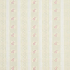 D125 Gold Pink And White Floral Striped Brocade Upholstery Fabric