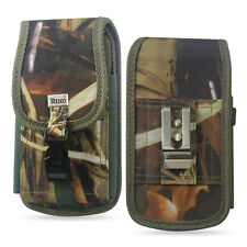 REIKO Rugged Carrying Case Pouch Holster Cover with Metal Clip Belt Loops