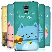 HEAD CASE DESIGNS CURIOUS CATS REPLACEMENT BATTERY COVER FOR SAMSUNG PHONES 1