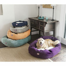 Majestic Pet Villa Collection Faux Velvet/ Sherpa Bagel Dog