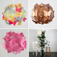 Girls Butterfly Ceiling Pendant Light Lamp Shade Chandeliers Shades Lampshades