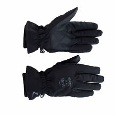 Horze Adult Black Horse Riding Supreme Nordic Winter Gloves Water Wind Repellent