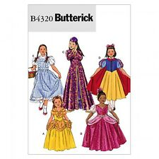 Butterick Childrens Sewing Pattern 4320 Storybook Fancy Dress Costumes (Butte...