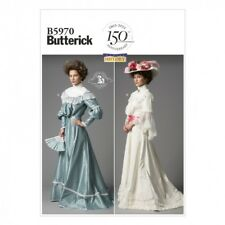 Free UK P&P - Butterick Ladies Sewing Pattern 5970 Historical Costume Top...