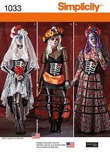 Simplicity Ladies Sewing Pattern 1033 Fancy Dress Costumes (Simplicity-1033-M)