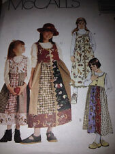 Sewing Pattern Mccalls 8415 Girls Jumper Size 4 5 6 or 7 8 10 Uncut