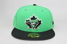 Toronto Blue Jays Green Black New Era 59Fifty Fitted Hat