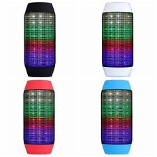 Wireless Bluetooth Speaker Portable Sound System 3D Stereo Colorfuf LED Light