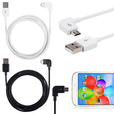 1/2/3M Right Angle Universal Micro USB Data Sync Charger Cable for Andriod Phone