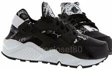 Nike Air Huarache Black Snakeskin Print Grey White Womens Trainers 725076-002