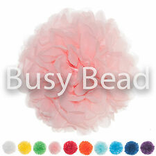 Tissue Paper Pom Poms 6 and 8 inch - Packs of 5 and 10 Wedding Party Pompoms