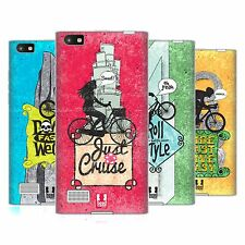 HEAD CASE DESIGNS BICYCLE LOVE SOFT GEL CASE FOR BLACKBERRY PHONES