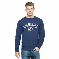 Tampa Bay Lightning '47 Cross-Check Sweatshirt - Blue - NHL