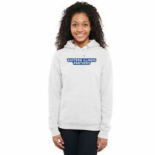 Women's White Eastern Illinois Panthers Classic Wordmark Pullover Hoodie