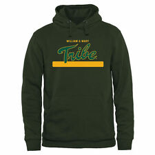 William & Mary Tribe Team Strong Pullover Hoodie - Green - College
