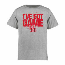 Houston Cougars Youth Got Game T-Shirt - Heather Gray - College