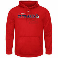 St. Louis Cardinals Majestic Receiving End Hoodie - Red - MLB
