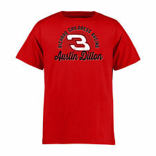 Austin Dillon Youth Race Day T-Shirt - Red - NASCAR