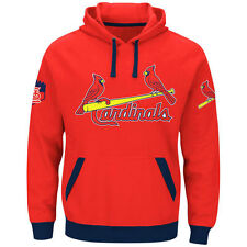 St. Louis Cardinals Majestic Third Wind Hoodie - Red - MLB