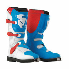 THOR MOTOCROSS MX BOOTS 2016 FLASH red-blue
