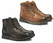 CAT Caterpillar Lenox Leather Casual Ankle High Mens Fashion Boots UK6-12