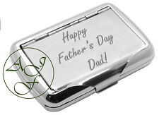 Personalised Engraved Tobacco Tin Fathers Day Gift