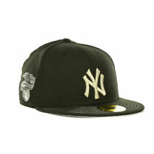 New York Yankees MLB Chromafitted MLB New Era 5950 Flat Bill Brim Fitted Hat Cap