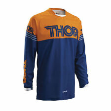THOR MX / MTB JERSEY 2016 PHASE HYPERION - navy-orange