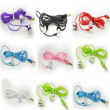 Candy Color Universal 3.5mm Neutral In Ear earphone Crystal headset headphone
