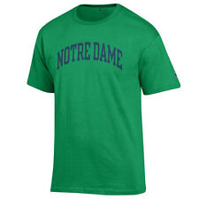 Mens Notre Dame Fighting Irish Kelly Green Champion Basic Arch T-Shirt - College