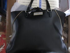 NWT $298  DKNY Shiny Saffiano Leather Premium Designer Tote Shoulderbag Handbag.