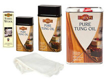 Liberon Pure Tung Oil Wood Treatment ALL the Sizes 250ml 500ml 1 Litre 5 Litre