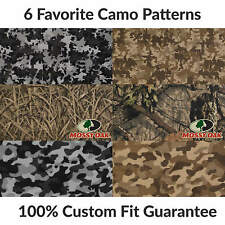 1st & 2nd Row Camo Carpet Floor Mat for Rolls Royce Silver Shadow II #F8478