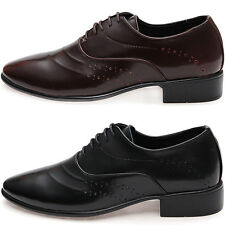 New Mooda Stylish Trend Leather Casual Oxford Formal Men Fashion Dress Shoes
