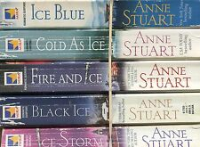 LOT OF 5 PB~ANNE STUART~ICE SERIES: ICE BLUE~COLD AS ICE~FIRE & ICE~BLACK ICE~ST