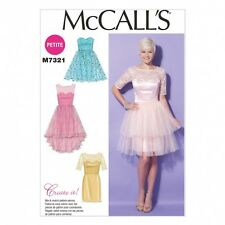 McCalls Ladies Sewing Pattern 7321 Sweetheart Neckline Party Dresses (McCalls...