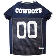 Dallas Cowboys NFL Pet Dog Mesh Football Jersey (all sizes)