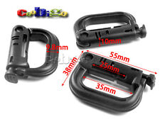 GRIMLOC ARMY LOCKING Carabiners D-Ring Multi-use Buckle MOLLE Clasp Keychain
