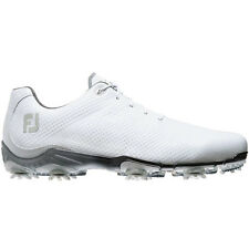 FootJoy Mens DryJoys DNA Closeout Golf Shoes White/White 53401 NEW BNIB Spiked